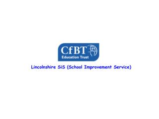 Lincolnshire SiS (School Improvement Service)
