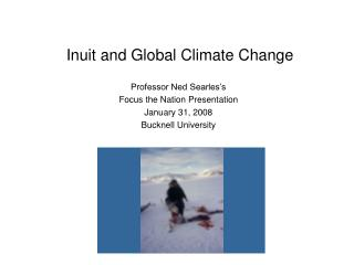 Inuit and Global Climate Change