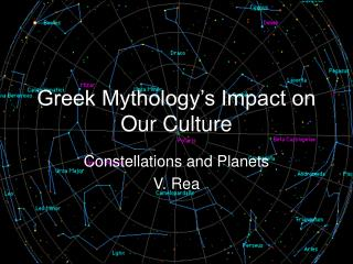 Greek Mythology's Impact on Our Culture