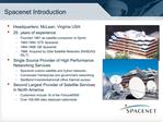 Spacenet Introduction