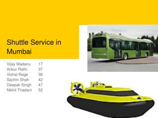 Shuttle Service in Mumbai