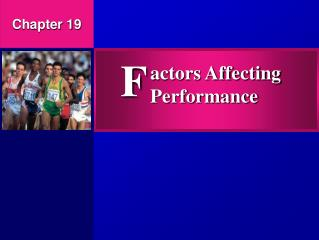 actors Affecting Performance