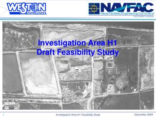 Investigation Area H1 Draft Feasibility Study