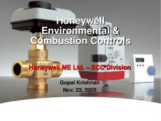 Honeywell Environmental & Combustion Controls
