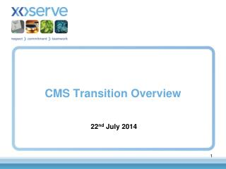 CMS Transition Overview