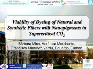 Viability of Dyeing of Natural and Synthetic Fibers with  Nanopigments  in Supercritical CO 2