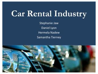 Car Rental Industry