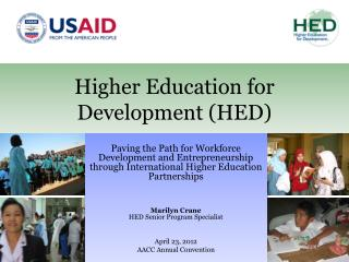 Higher Education for   Development (HED)
