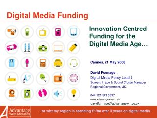 Digital Media Funding