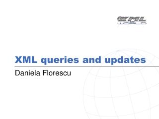 XML queries and updates