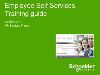Employee Self Services Training guide