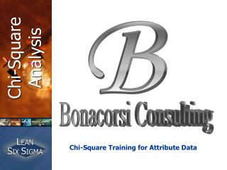 Chi-Square Training for Attribute Data