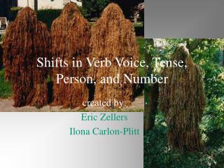 Shifts in Verb Voice, Tense, Person, and Number