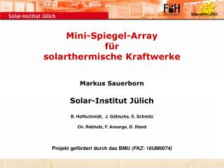 Mini-Spiegel-Array