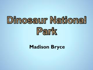 Madison Bryce