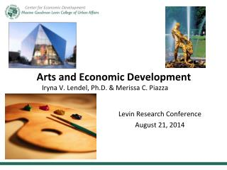 Arts and Economic Development