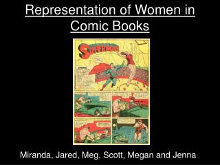 Representation of Women in Comic Books