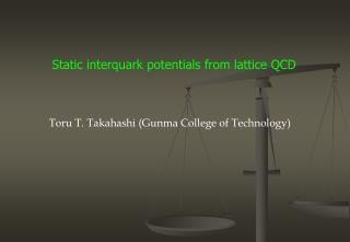 Static  interquark  potentials from lattice QCD