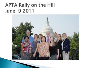 APTA Rally on the Hill June  9 2011