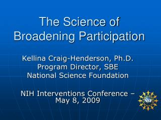 The Science of Broadening Participation
