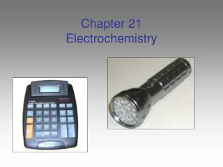 Chapter 21 Electrochemistry