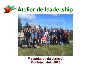 Atelier de leadership