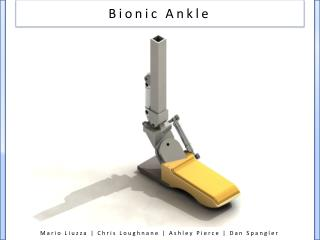 Bionic Ankle