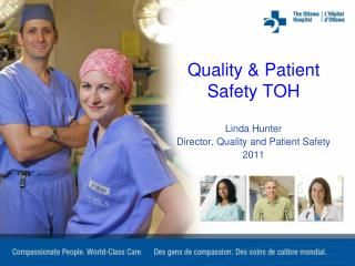 Quality & Patient Safety TOH