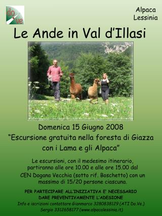 Le Ande in Val d'Illasi