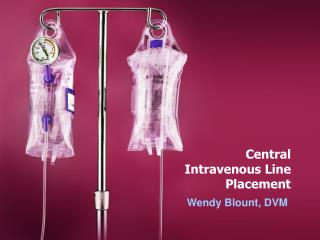 Central Intravenous Line Placement