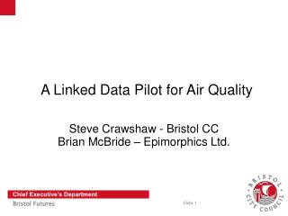 A Linked Data Pilot for Air Quality