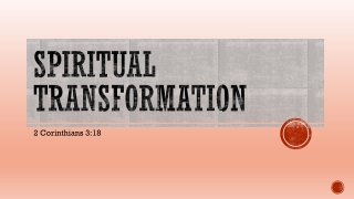 THE HEART AND SPIRITUAL TRANSFORMATION