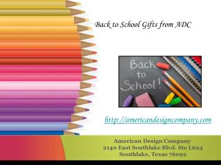 Back To School Gifts Online