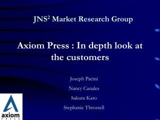 JNS 2 Market Research Group