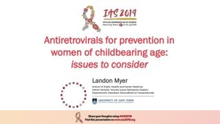 HIV, conception, pregnancy and contraception