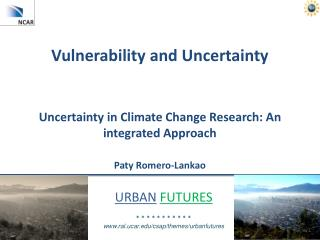 Vulnerability and Uncertainty