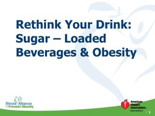 Rethink Your Drink: Sugar – Loaded Beverages & Obesity