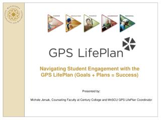 Navigating Student Engagement with the  GPS LifePlan (Goals + Plans = Success)