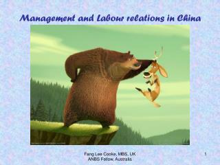 Management and Labour relations in China