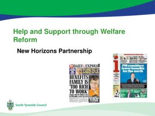 Help and Support through Welfare Reform