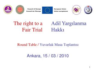 The right to a Fair Trial