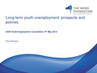 Long-term youth unemployment: prospects and policies