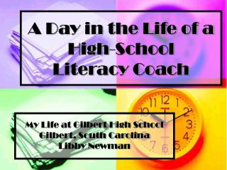 A Day in the Life of a High-School  Literacy Coach