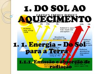 1. DO SOL AO AQUECIMENTO