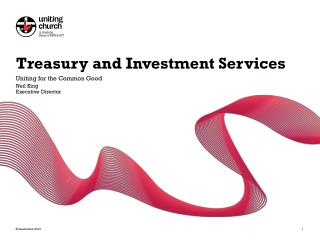 Treasury and Investment Services