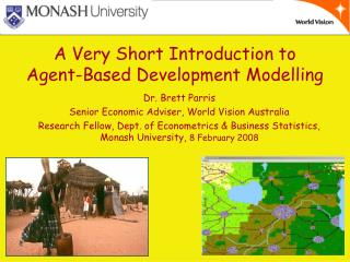 A Very Short Introduction to  Agent-Based Development Modelling