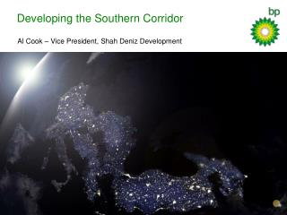 Developing the Southern Corridor