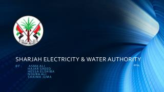 SHARJAH ELECTRICITY & WATER AUTHORITY