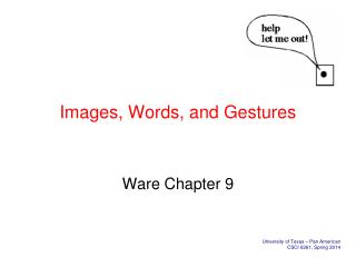 Images, Words, and Gestures