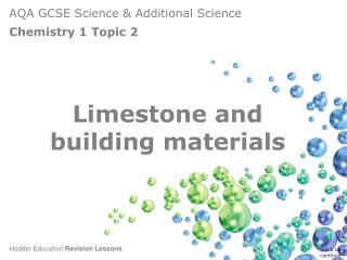 Limestone and building materials